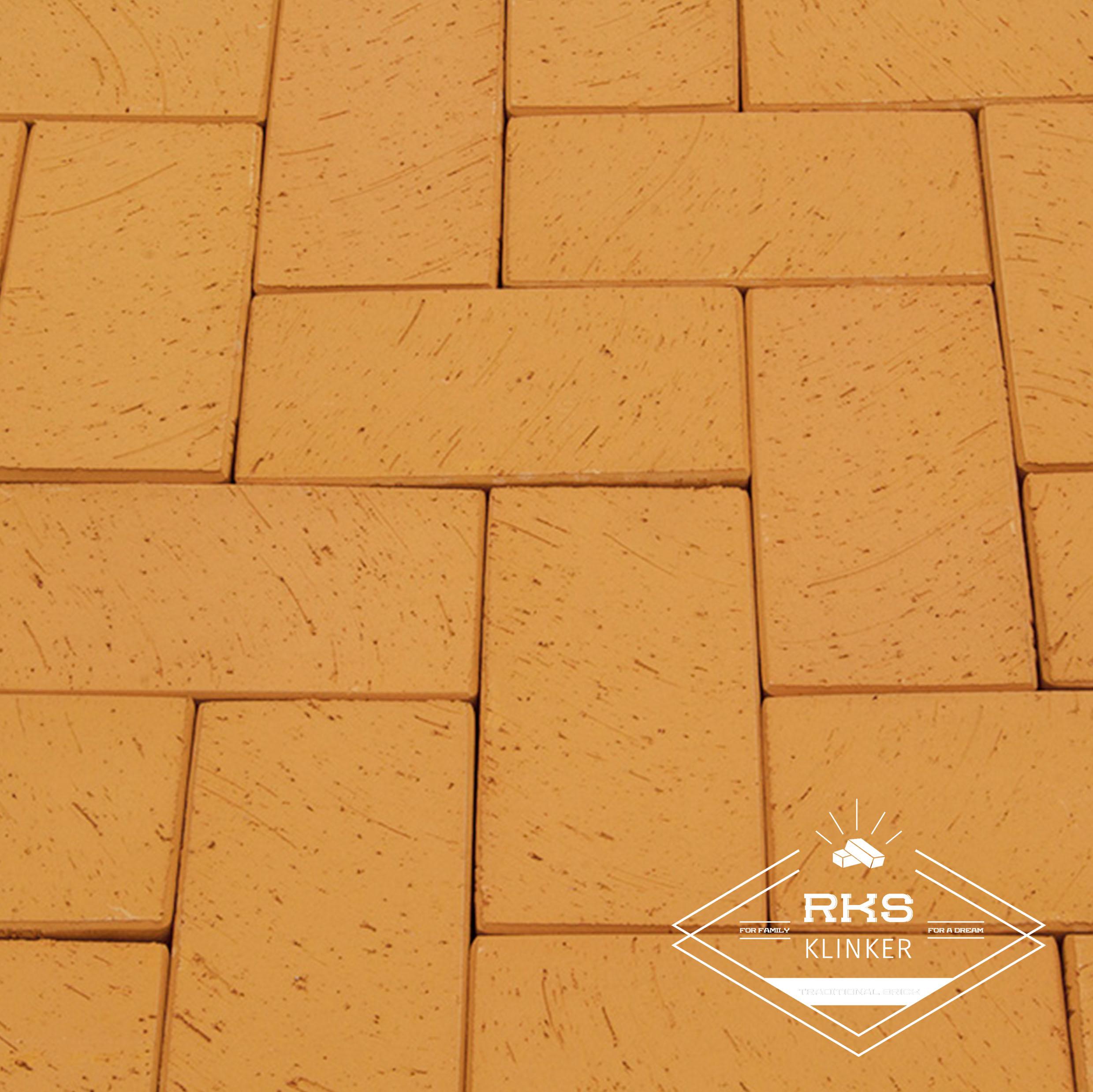 Клинкерная тротуарная плитка LODE, Dzintra, желтый в Саратове
